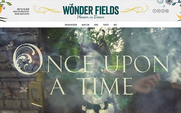 Wonder Fields - Website and Digital Marketing
